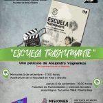 """Proyectarán el film """"Escuela trashumante"""""""