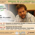 Actividades en la Semana de la Agroecología en la FHyCS