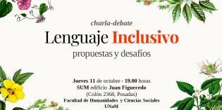 Debatirán en la FHyCS sobre lenguaje inclusivo