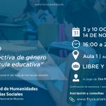 """Continúa el seminario gratuito """"La perspectiva de género en la currícula educativa"""""""