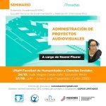 Capacitarán sobre administración de proyectos audiovisuales