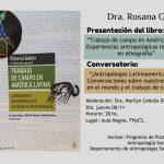 Rosana Guber presentará libro y participará de debate en Posadas