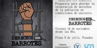 Estudiantes de Comunicación realizarán actividades para visibilizar la vulneración de derechos de personas en situación carcelaria