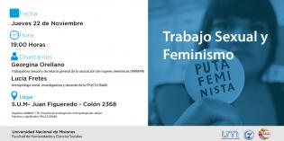 """Charla-Debate: """"Trabajo Sexual y Feminismo"""""""