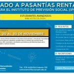 Se extiende hasta el 30 de noviembre el llamado a pasantías rentadas para estudiantes de Bibliotecología