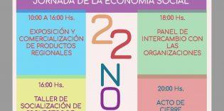 Desarrollarán actividades por la Primer Semana Nacional de la Economía Social