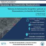 Se realizará el seminario sobre Sistema de Información Geográfico en la FHyCS