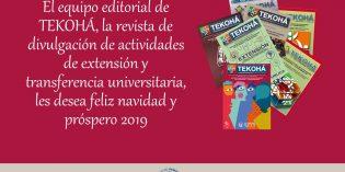 """Salutación de la Revista de Extensión de """"Tekohá"""" de la FHyCS-UNaM"""
