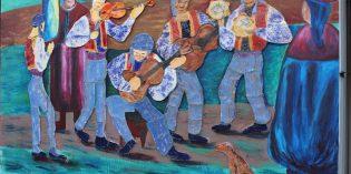 La FHyCS colaboró con la realización de un mural en el Paseo Bosetti