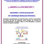Se encuentra abierta la inscripción a los Posgrados en Abordaje Familiar Integral