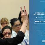 Se dictará la carrera de Intérprete Universitario en Lengua de Señas Argentina – Español en San Pedro