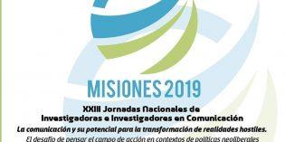 Invitan a las XXIII Jornadas de la Red Nacional de Investigadoras e Investigadores en Comunicación
