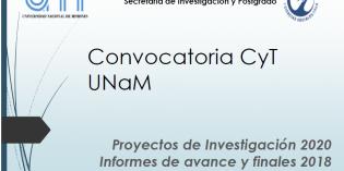 Resumen de la Charla sobre la actual Convocatoria CyT de la UNaM