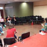 Función de cierre del Club de Narradores Orales en la FHyCS