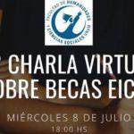 Humanidades invita a la segunda charla sobre Becas EICyT 2020