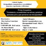 """Realizarán Ciclo de charlas """"Desigualdades Comunicativas y accesibilidad: trayectos, experiencias y reflexiones""""."""