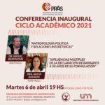 Inauguración Ciclo 2021 del Programa de Posgrado en Antropología Social