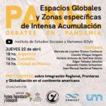 """Invitan al Panel """"Espacios globales y zonas específicas de intensa acumulación"""""""